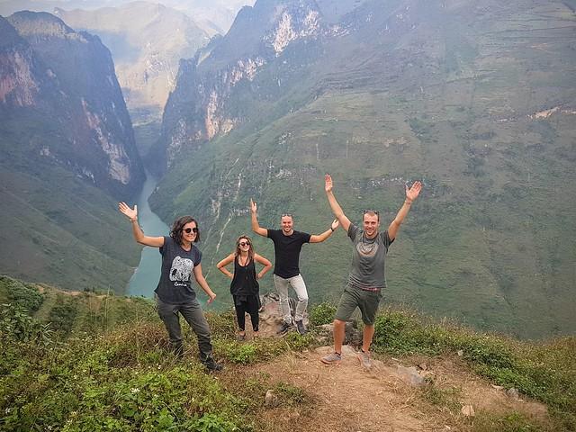 Notre extraordinaire Ha Giang loop avec Marco et Anastazja