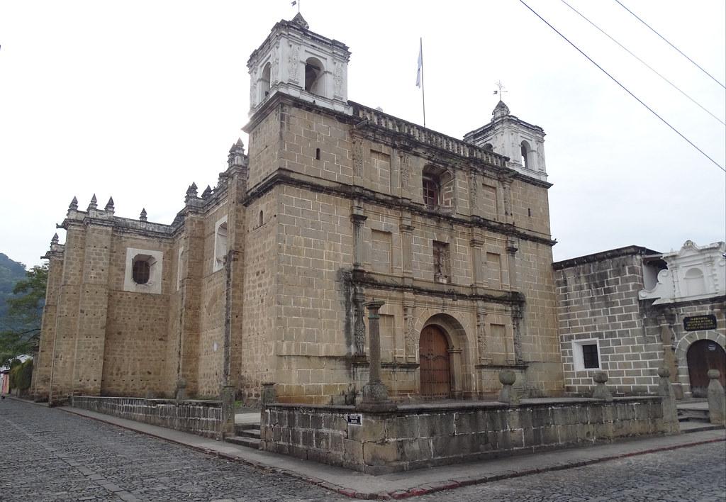 Antigua Parroquia Escuela de Cristo Nuestra Señora de los Remedios  Guatemala 02