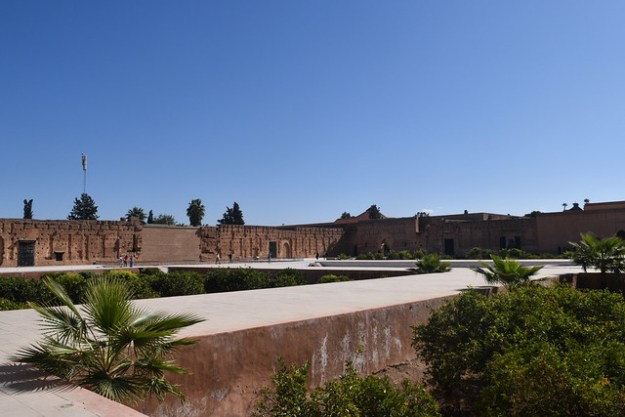 Central Gardens of El Badii Palace