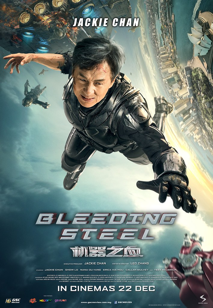 Poster Filem BLEEDING STEEL
