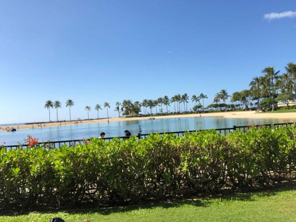 Nearby lagoon