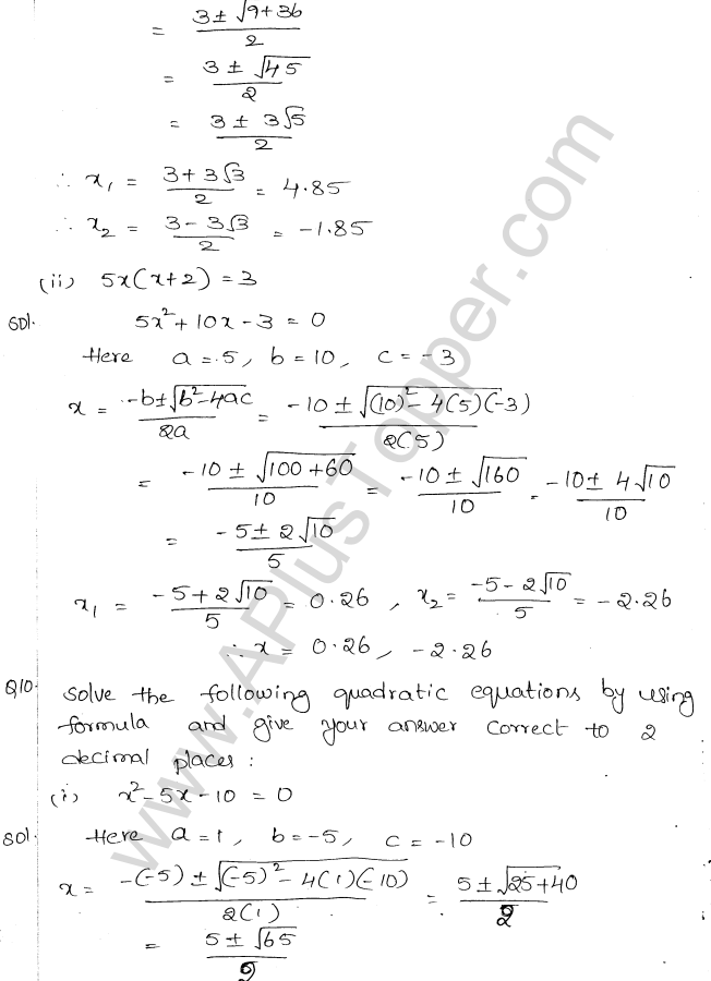 ml-aggarwal-icse-solutions-for-class-10-maths-chapter-5-quadratic-equations-in-one-variable-23