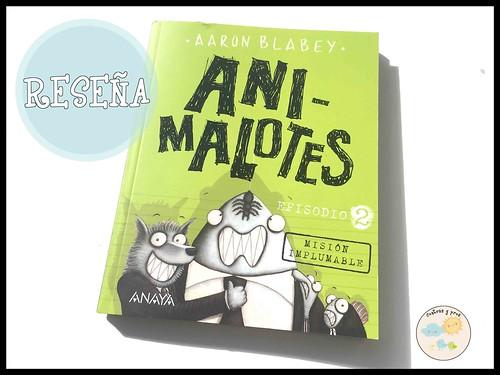 Ficha libro Animalotes 2. Reseña