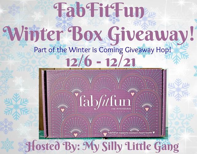 FabFitFun Winter Box Giveaway & Hop