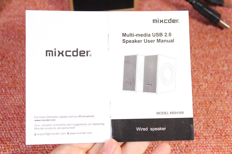 PCスピーカー Mixcder MSH169 レビュー (13)