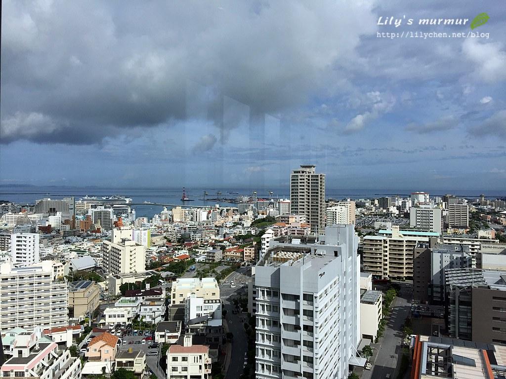沖繩那霸市景,從高樓層看感覺真好!