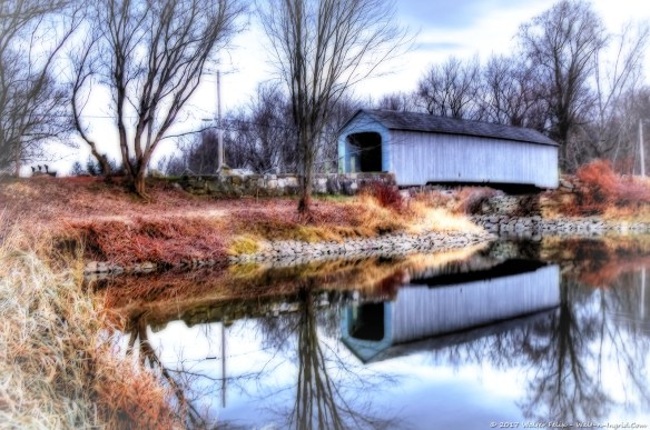 Upper Sheffield Covered Bridge
