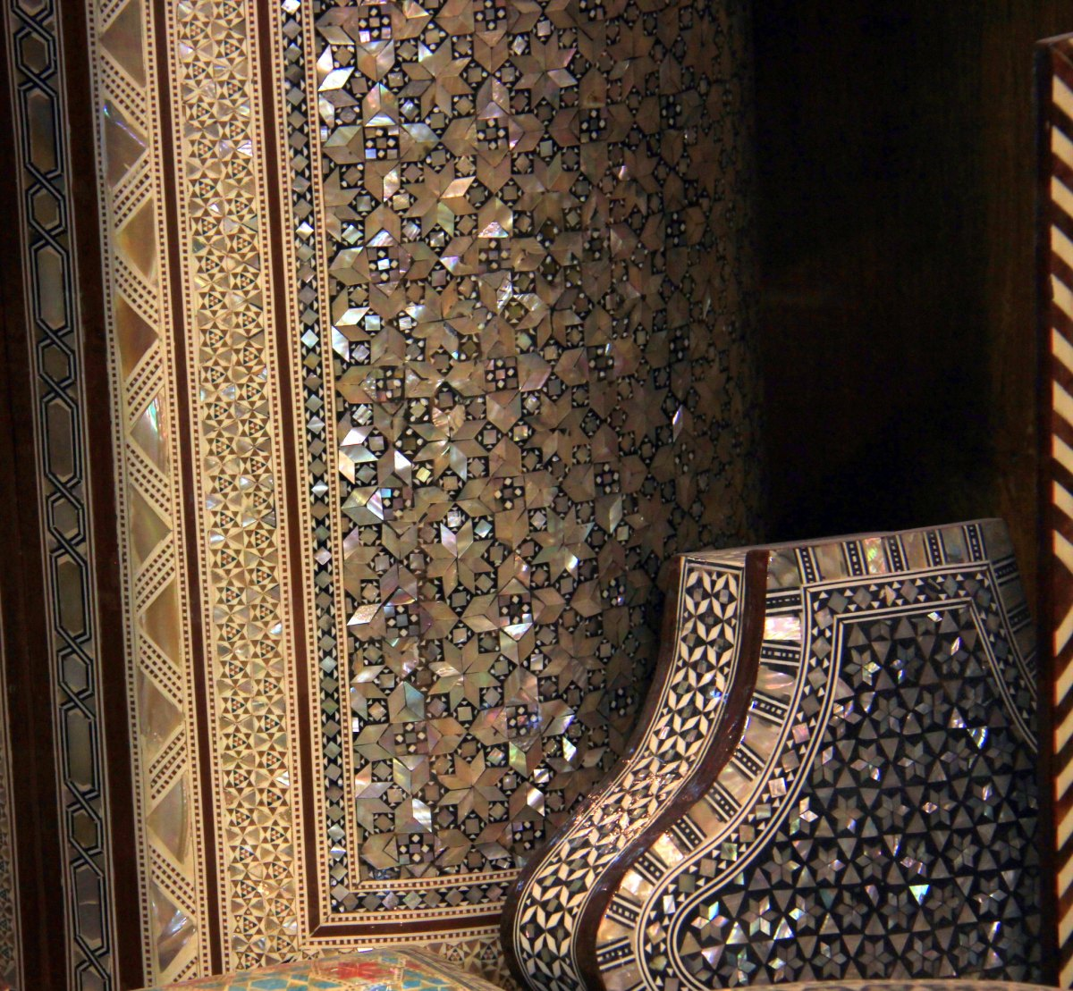Beautiful inlaid boxes of Egypt