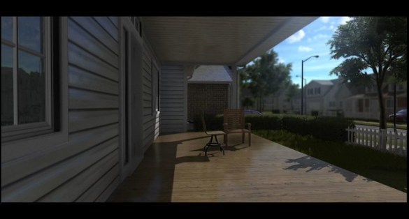 Fantasy FilmEngine - 3D Porch Render