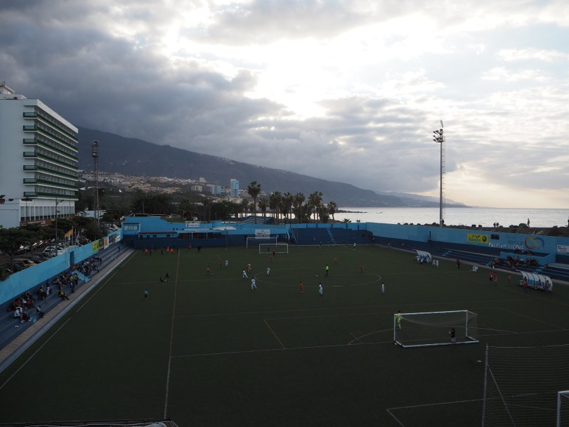 Fußball in Puerto de la Cruz