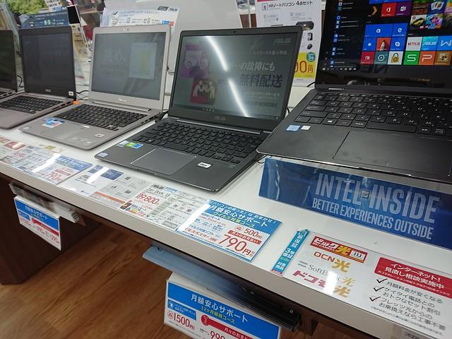 ビックカメラ有楽町店のパソコンフロアは5Fです