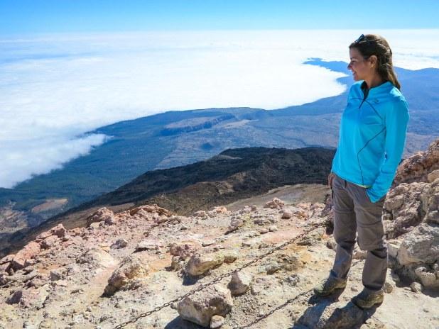 Vista desde el pico del Teide