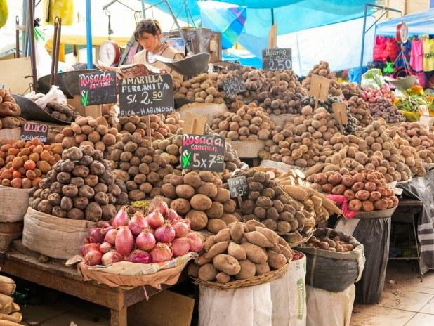 Mercado en Arequipa