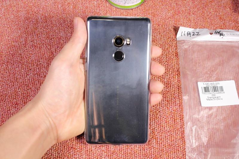 Xiaomi Mi Mix 2のTPU透明ケースを2つ開封レビュー (10)