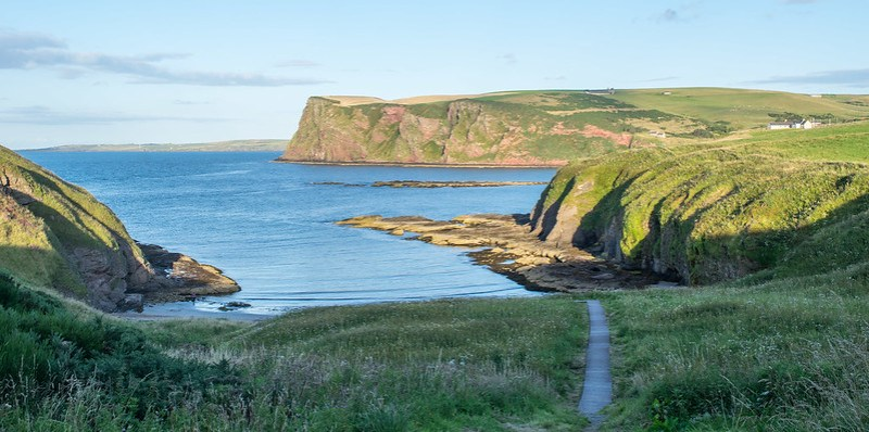 Scottish Travel Experiences - Banffshire Coast Camping