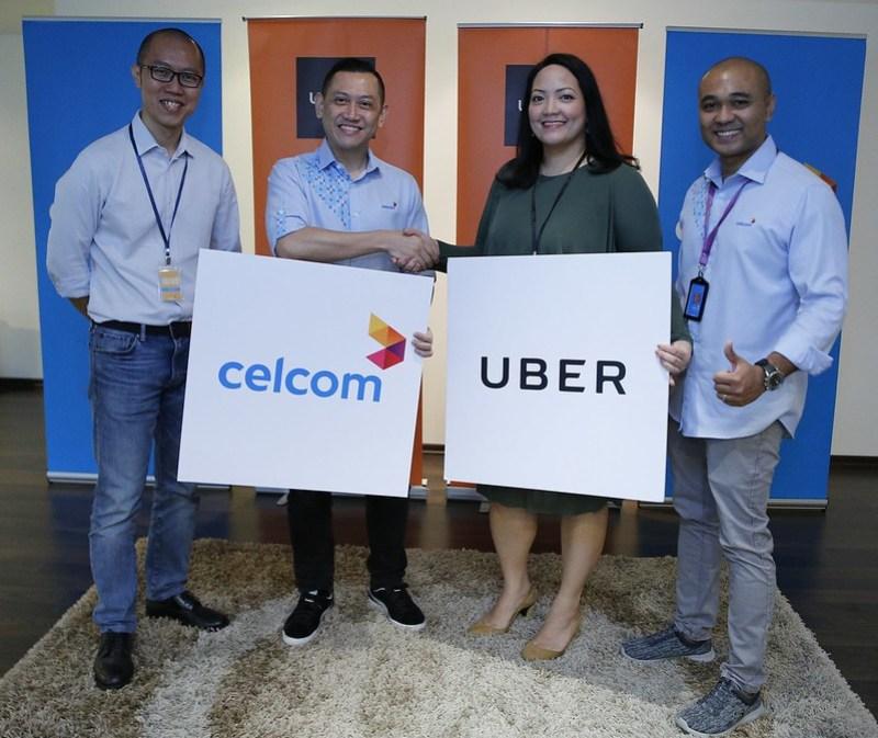 Celcom & Uber