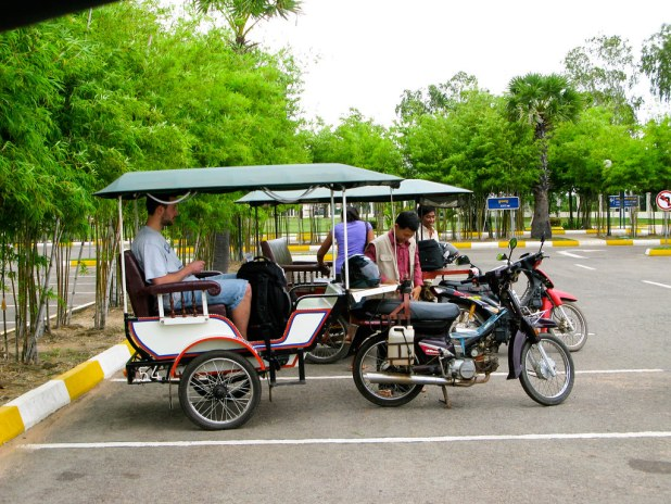 Tuk-tuk en Camboya