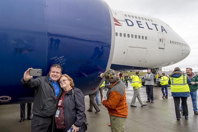 Delta 747 Farewell Tour