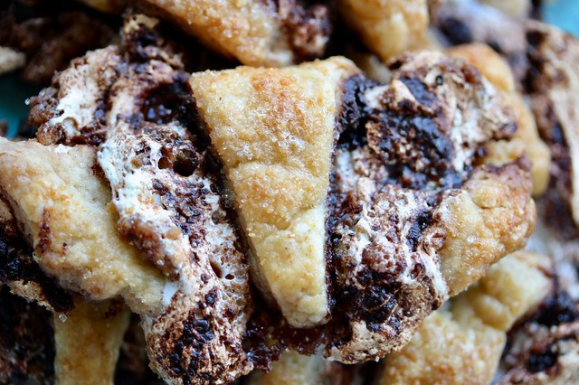 S'mores Rugelach Smash Cookies - 20
