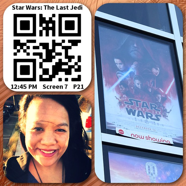 the time I saw The Last Jedi