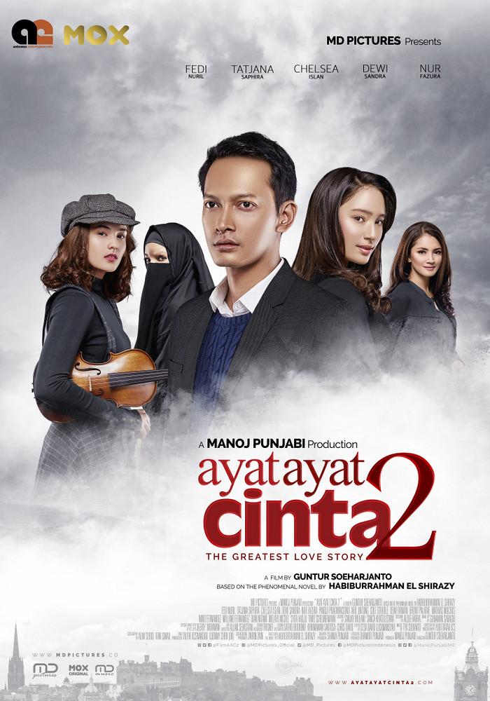 Poster AYAT-AYAT CINTA 2
