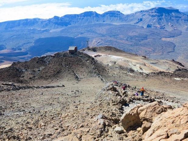 Sendero telesforo Bravo en El Teide