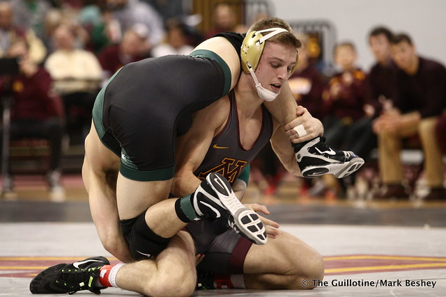 165 No. 9 Nick Wanzek (Minnesota) maj. dec. Austin Hiles (Michigan State) 15-7. 180107AMK0051