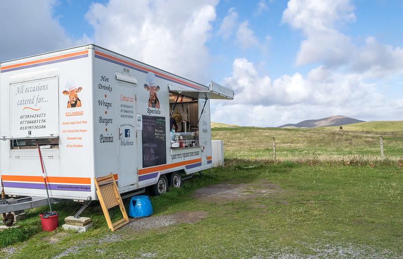 Blas Bhon Iar Food Van - Isle of Harris