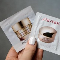 Beauty: Trying out some samples (Shiseido, Estée Lauder, Mylène)
