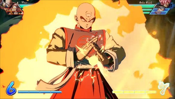 Dragon Ball FighterZ - Tien Powering Up