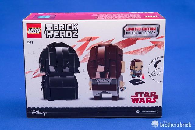 Camera Lego Driver : Lego star wars brickheadz rey kylo ren limited edition
