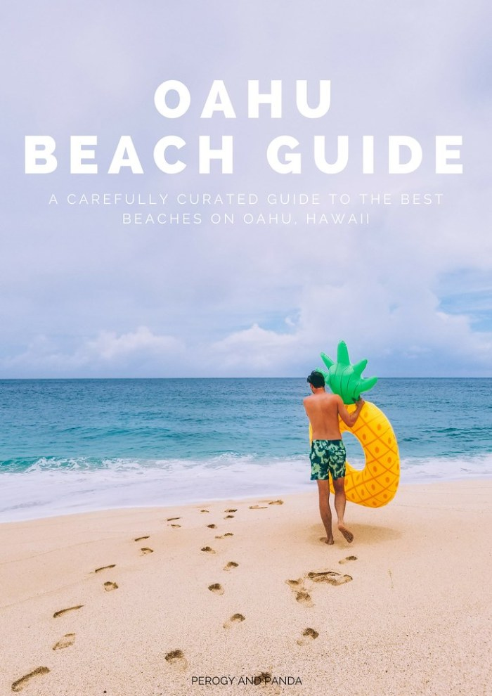 Oahu Beach Guide - A Perogy and Panda Hawaii Travel Guide