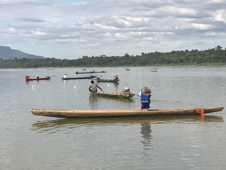 Fishing on the Mekong