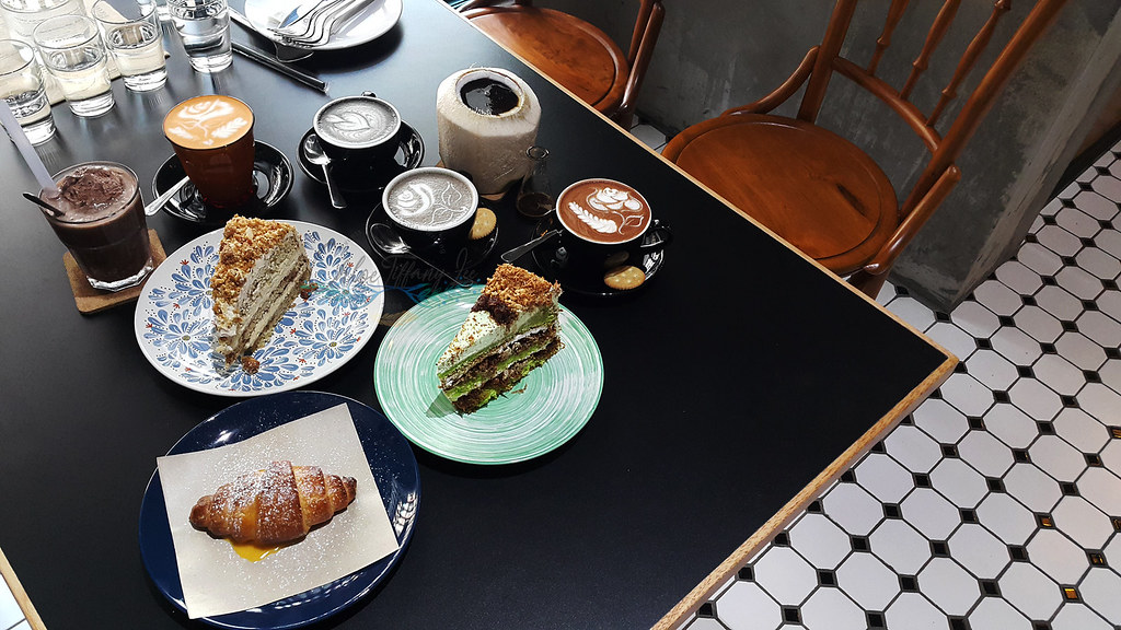Drinks, Food, Coffee, Cakes, Desserts, Ampersand Specialty Coffee, Bandaran Berjaya, Kota Kinabalu, Sabah, Malaysia, Chloe Tiffany Lee