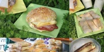 台南美食早餐 超狂早餐店!樣樣手作超用心,中西式早餐任你選。「曜陽營養三明治」