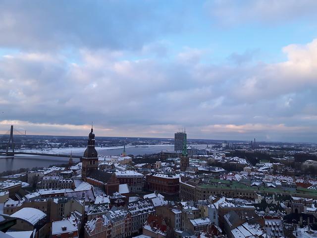 View over Riga horizontal