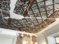Ceiling detail, Interior, Clifton Mansion (1803), 2701 St. Lo Drive, Baltimore, MD 21213