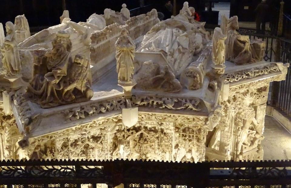 Cartuja Santa Maria Miraflores Sepulcro de Juan II de Castilla y de Isabel de Portugal Burgos 13