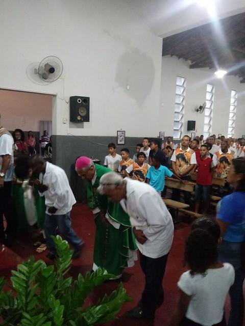 Santa Missa com Terço dos Homens