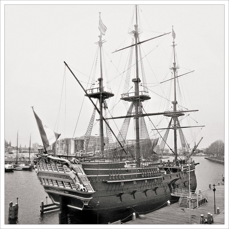 The East Indiaman Amsterdam
