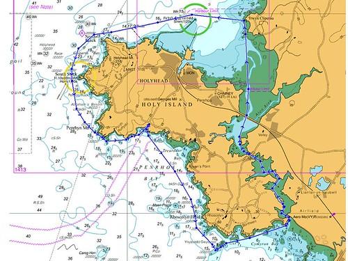 holy island circumnav
