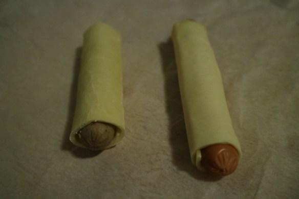 Vegetarische worstenbroodjes (1)