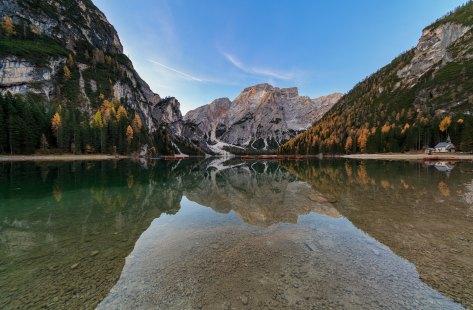 Lago di Braies, Pragser Wildsee, Dolomites (It)
