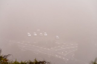 Nebelparkplatz