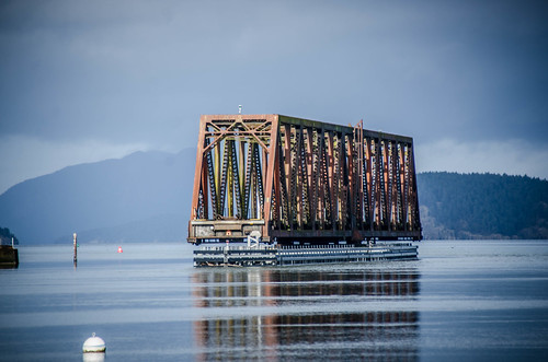 Swinomish Channel Rotating Railroad Bridge