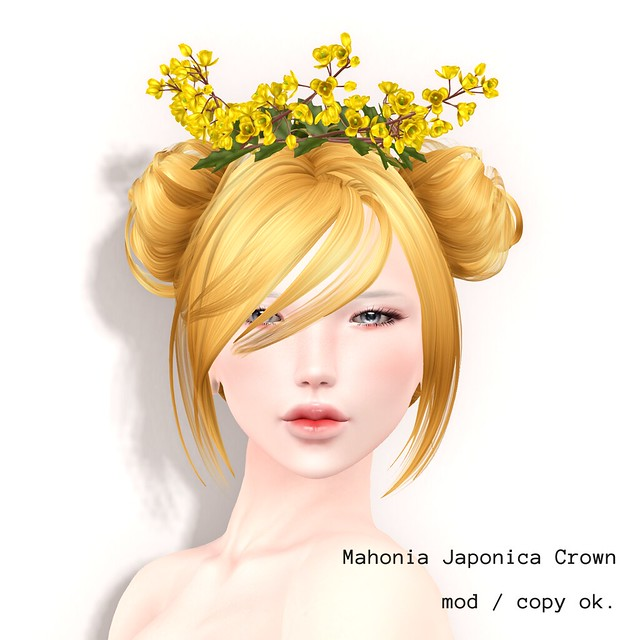 *NAMINOKE*Mahonia Japonica Crown