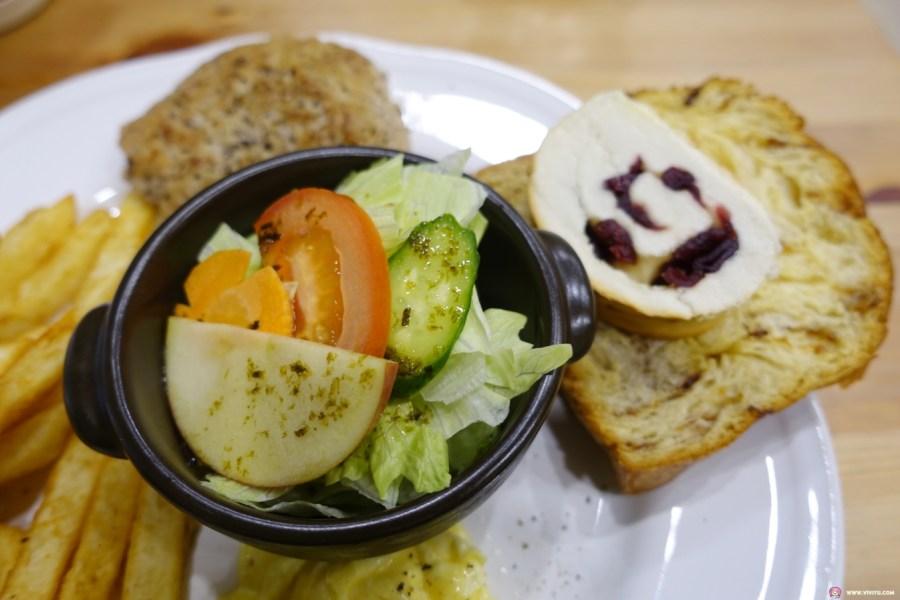 [桃園美食]那一家輕食早午餐~炒泡麵奶茶餐點平價.用餐環境舒服 @VIVIYU小世界
