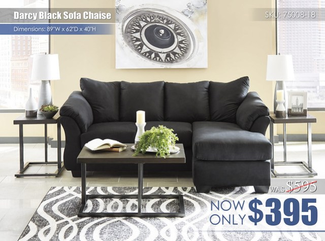 Darcy Black Sofa Chaise_75008-18-T194