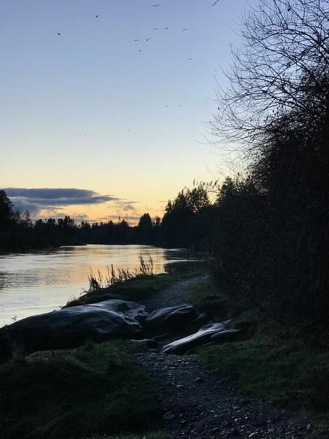 Nanaimo -  Hike sunset