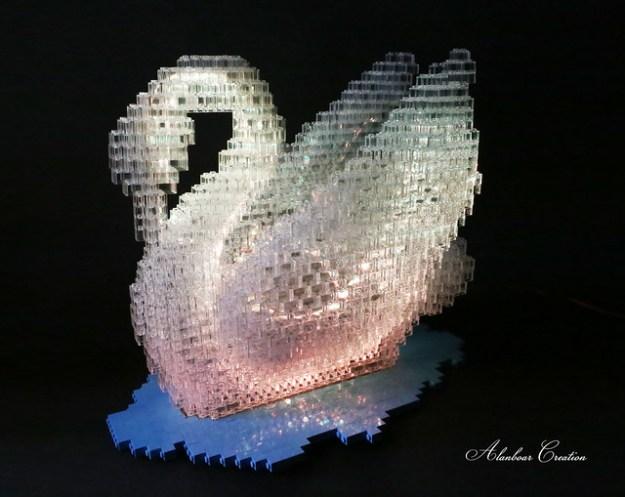 LEGO Swan Lake